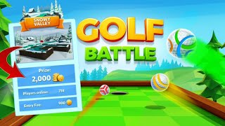 Golf Battle ~ SNOWY VALLEY PRO 4 Games / Tips And Tricks
