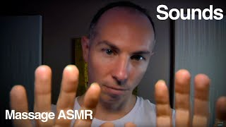 ASMR Inaudible & Unintelligible Whispering Ear to Ear with Hand Movements