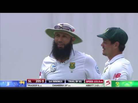 South Africa vs Sri Lanka - 1st Test - Day 3 - Session 1 - highlights
