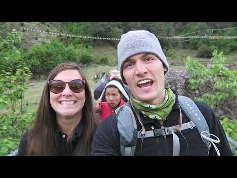 Day 2 Everest Base Camp Trek Phakding to Namche Bazaar
