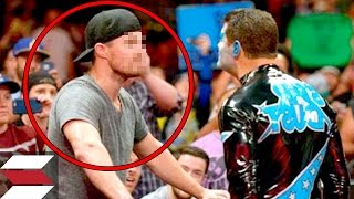 10 Times Wrestlers Attacked Fans