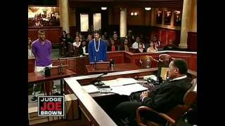 Thug Gets Bold With Judge Joe Brown!