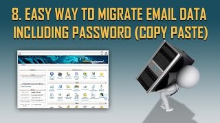 Easy way to migrate email - only copy paste | Step by Step Host to host migration part 8