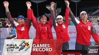 Swimming Women's 4 x 100m freestyle relay | Games record | 29th SEA Games 2017