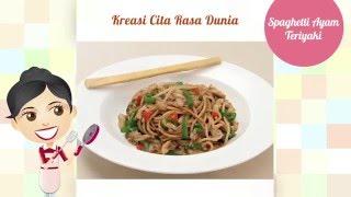 Dapur Umami - Spaghetti Ayam Teriyaki