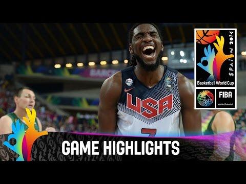 watch USA v Lithuania - Game Highlights - Semi Final - 2014 FIBA Basketball World Cup