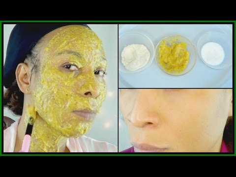 ANTI - AGING FACIAL MASK FOR 5 TO 10 YEARS YOUNGER LOOKING SKIN | RICE MANGO MASK |Khichi Beauty