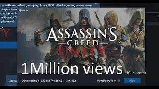 How to download Assassin's Creed Unity free for lifetime on PC - must watch (Turn on CC first)