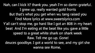 Macklemore - Can't hold us Lyrics