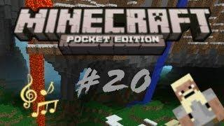 #20 - Let's Play Minecraft Pocket Edition - Marmor, Stein und Eisen bricht...
