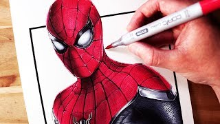 Let's Draw SPIDER-MAN: FAR FROM HOME - FAN ART FRIDAY