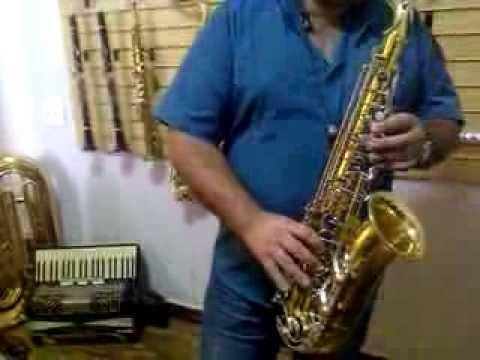 Teste de Som Sax Alto Yamaha 23