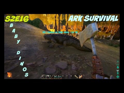 Maturation Process of Baby Dinos and Egg Hatching in ARK Survival! (S2E16)