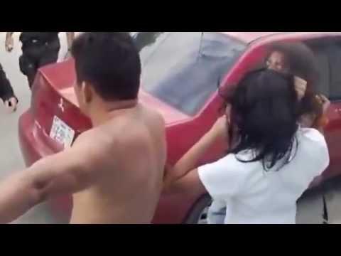 Esto es una pelea de familia en campeche en México