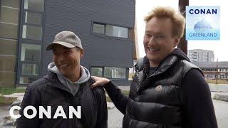 Conan Arrives In Nuuk - CONAN on TBS