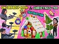 Gingerbread House Go Bye Bye + Christmas Tree Problems! FUNnel Vision Family Vlog