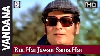 Rut Hai Jawan Sama Hai Bada Pyara - Lata Mangeshkar - vandana - Sadhana, Parikshat Sahni