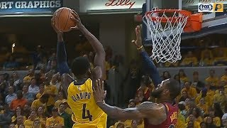 LeBron James Gets Dunked On By Victor Oladipo!
