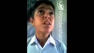 Nishan Bhattarai From Nepal Idol || When he was small  || Rare Video Singing Beautiful Song