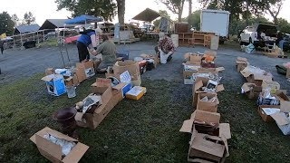 The Early Bird Gets The Worm at The Flea Market - Selling A Garage Full