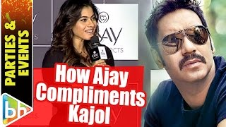 This Is How Ajay Devgn Compliments Kajol When She's Looking EXCEPTIONALLY Well