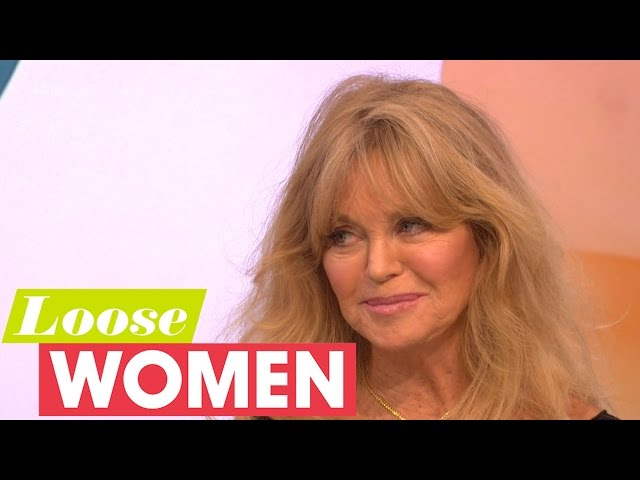 Goldie Hawn On Playing Amy Schumer's Mum And Her Relationship With Kurt Russell | Loose Women