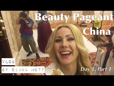BEAUTY PAGEANT from inside, all the TRUTH | China, Miss Model Vlog Day 1, Part 1