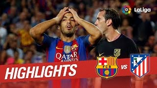 Resumen de FC Barcelona vs Atlético de Madrid (1-1)