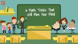 ✔ 10 Math Tricks That Will Blow Your Mind