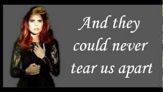 Paloma Faith - Never Tear Us Apart Lyrics