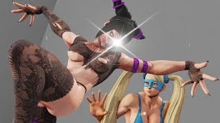 Street Fighter V - Sexy Mod 2/Rainbow Mika vs Juri
