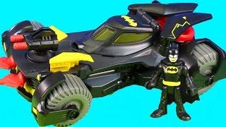 Imaginext Batman Gives Robin A Batmobile To Attack Star Wars Darth Vader Joker And Mohawk Dude