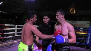 Kru SaenKeang Sinbi Muay Thai, wins on points at Rawai Boxing Stadium