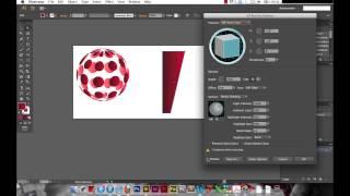 Tutoriel Illustrator : L'effet 3D