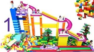 Lego Slide for Lego Friends, Princess and Elves.