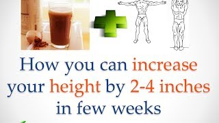 learn how to increase height up to 4 inches by following this exercices!