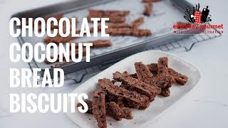 Chocolate Coconut Bread Biscuits | Everyday Gourmet S7 EP39