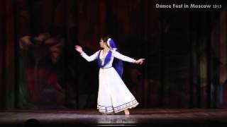 Russian Kathak dancer