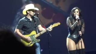 Demi Lovato & Brad Paisley - Without A Fight - July 26, 2016