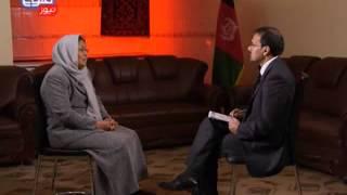 TOLOnews 01 Jan 2014 Exclusive Interview with Habiba Surabi / گفتگویی ویژه با حبیبه سرابی