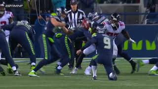 Seahawks Fake Field Goal Attempt Fails Miserably!   Trick Play Fail   NFL