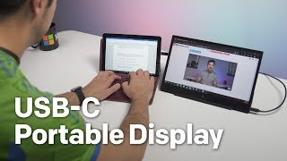 HP EliteDisplay S14 USB-C portable display review: Perfect for Surface Go