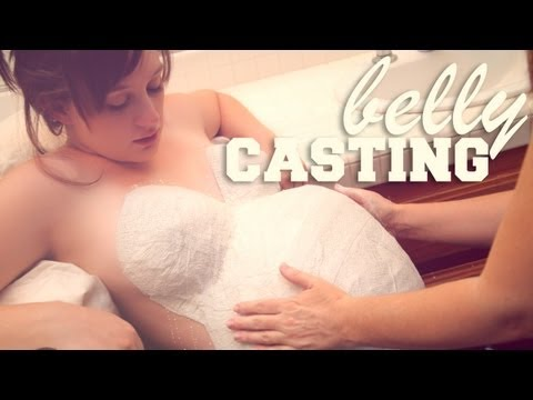 LOPSIDED PREGNANT BELLY CASTING 36 Weeks Pregnant Bumps Along the Way Pregnancy Vlog
