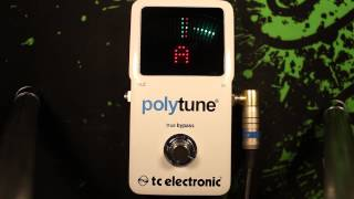 Polytune 2 - Responsiveness for bass