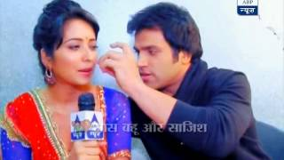 Ritwik and Asha share their love story on the sets of 'Pavitra Rishta'