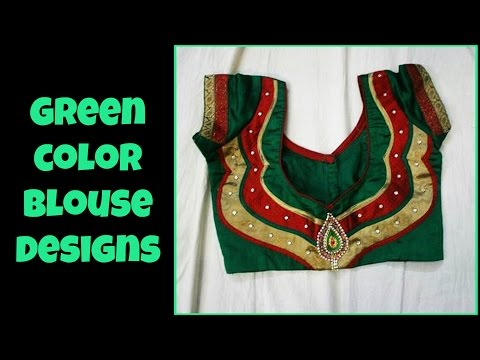 Xxx Mp4 Latest Fashionable Green Color Blouse Designs 3gp Sex