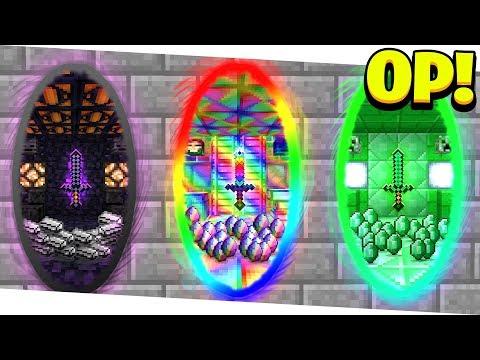 WHAT S INSIDE THESE SECRET OVERPOWERED MINECRAFT PORTALS Minecraft 1.13 Mods