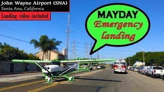 Student Pilot LANDS HER CESSNA ON A BUSY ROAD at California!