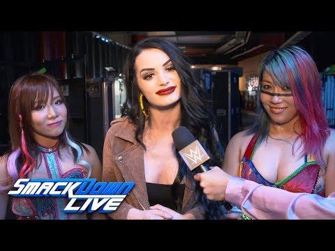 Xxx Mp4 Paige Explains Why Asuka Amp Kairi Sane Joined Forces SmackDown Exclusive April 16 2019 3gp Sex