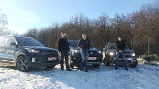 Hyundai CRETA, Renault DUSTER, Toyota RAV4: большой тест по снегу